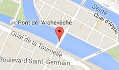 Pont de la Tournelle: carte
