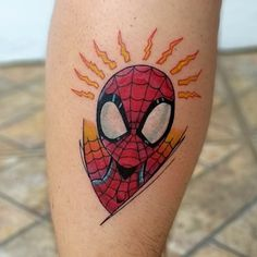 The Best Spiderman Tattoo Ideas! Over 30 amazing designs Spiderman Tattoo, Marvel Tattoos, One Word Tattoos, Tattoos For Guys, Arrow Tattoos, Gun Tattoos, Ankle Tattoos, Ankle Tattoo Small, Tiny Tattoo