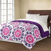 Mainstays Suzani Printed Bedding Comforter - like.hubby would never go for it! Dorm Bedding Sets, College Dorm Bedding, Comforter Sets, Modern Duvet Covers, Love Your Home, Girls Bedroom, Bedroom Ideas, Bedrooms, Bedroom Inspiration