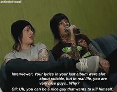 funny+bring+me+the+horizon | gifs Bring Me The Horizon bmth oliver sykes drop dead Oli ...