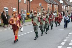 Abbots Bromley Horn Dance '10 - 08   Flickr - Photo Sharing!