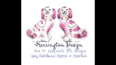 Herrington Design Instructional Video for Separating Designs using BX files on Embrilliance - YouTube
