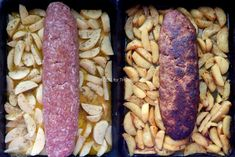 Food for thought: Ρολό κιμά με μπέικον στο φούρνο Sausage, Bacon, Food And Drink, Meat, Cyprus, Sausages, Pork Belly, Chinese Sausage