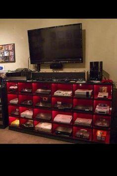 Video games like a boss. :D