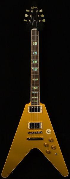 Gibson Custom Shop | Limited run Flying V Standard. Gold top.
