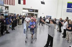 Sam's Club in Jefferson City is now open after celebrating their grand opening Thursday morning, July 23, 2015, with a ribbon cutting by the Chamber Ambassadors, music from the Jefferson City High School Drum Line and more. | News Tribune