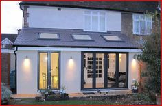kitchen extension- sky lights - Matt wants them inserted so we can still insulate roof space ? kitchen extension- sky lights - Matt wants them inserted so we can still insulate roof space ? House Extension Design, Extension Designs, Glass Extension, Roof Extension, House Design, Extension Google, 1930s House Extension, Cost Of Extension, Door Design