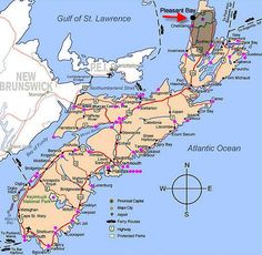 Another map better maybe cabot trail map, trail maps, east coast road trip, East Coast Travel, East Coast Road Trip, O Canada, Canada Travel, Alberta Canada, Cabot Trail Map, Trail Maps, Nova Scotia Travel, Acadie
