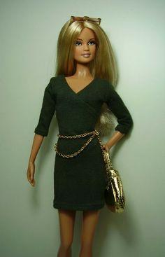 Агенты - Барби коллекторы и создание BB 002-11 оливковое платье