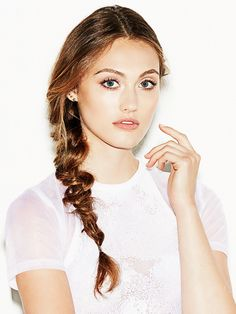 Hair How-to: Messy braid.