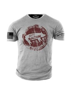 New GRUNT STYLE  EAGLE OF FREEDOM LICENSED T Shirt