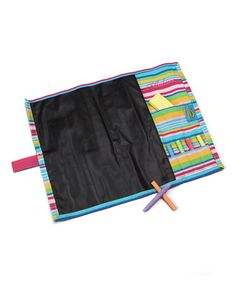 Take a look at this Stripe Personalized Chalkboard Place Mat by Doodlebugz Crayola on #zulily today!