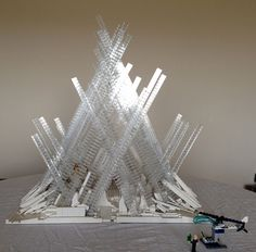 This is a model of the iconic Fortress of Solitude, Superman's home away from home, where he often travelled for solace, advice, and has even used as a headquarters. Though th...