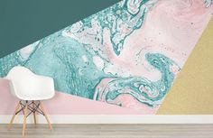 marble-and-glitter-geometric-collection-room