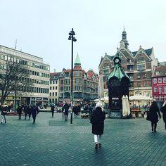 #nørreport #광장 #건축물 하나하나가 너무 멋스러운 도시 #코펜하겐 #중심가