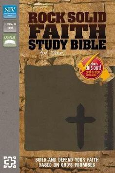 Top selling teen study Bible. Girls version available.
