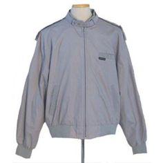 Members Only  XXL Vintage 80s Gray Jacket Coat