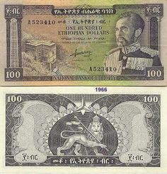 *****Emperial Ethiopia Paper Money ( Birr )*****  you can see more Ethiopian paper money pictures at the link below.   World Paper Money Catalog and History http://www.atsnotes.com/catalog/banknotes/ethiopia.html