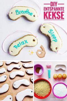 Entspannung geht durch den Magen ;) Mit diesen leckeren Spa Keksen ganz bestimmt! Weltbestes Wellness Geschenk DIY für die beste Freundin!