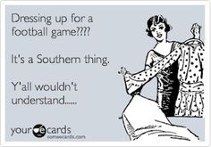 Football in the South.....Lindsay this so reminded me of you!! @lindsay2004