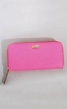 ban.do big spender wallet - neon pink