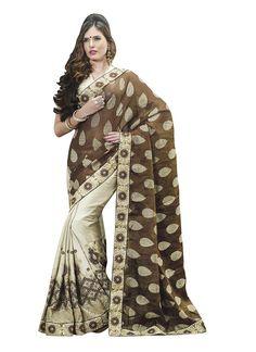 Bedazzling Jacquard Designer Saree