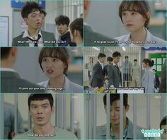 Ae Ra helps Dong Man get out and settle charges - Fight for my Way: Episode 2 korean drama K Drama, Drama 2016, Fight My Way Kdrama, Kim Book, Korean Drama Quotes, Drama Funny, W Two Worlds, Kdrama Memes, How Do You Find