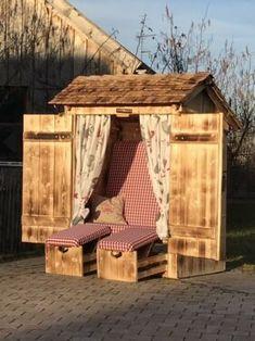 Arbor Bench, Garden Arbor, Backyard, Patio, Garden Buildings, Outdoor Furniture, Outdoor Decor, Outdoor Gardens, Garden Design