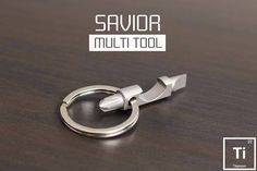 Keychain Multitool, Silhouette Cameo Tutorials, Cool Knives, Edc Tools, Bug Out Bag, Survival Prepping, Survival Kits, Edc Gear, Everyday Carry