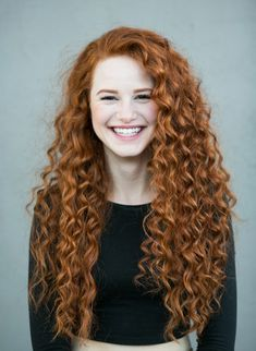 madelaine petsch curly red hair new book 02