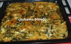 Çaykama böreği Muğla Milas yöresine ait bir lezzet.