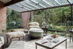 Galeria da Arquitetura | Casa Campos - A residência está localizada em Campos do Jordão (SP)
