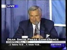 Legendary UNC coach Dean Smith left all of his former players $200 in his will for 'a dinner out' on him |