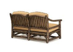 """""""7 Reasons to Love a Rustic Loveseat"""" - Reason #6 Rustic Love Seat #1168 by La Lune Collection"""