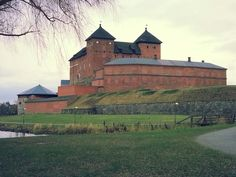 """See 136 photos and 4 tips from 4638 visitors to Hämeenlinna. """"Very nice City on the middle of Häme. Old Mansions, Fortification, I Want To Travel, Forts, Best Cities, Palaces, Scenery, Castle, Europe"""