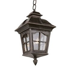 "Trans Globe 542 Hanging Outdoor Pendant 13"" wide.  Good price though at ATG stores."