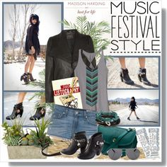 Music Festival Style With Lust for Life x Madison Harding, created by coeurdcoeurs7 on Polyvore