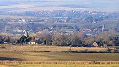 Rodmell, Iford and Kingston from Itford Hill, Southease - geograph.org.uk - 1118880.jpg