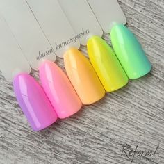 Ombre Spring Gel Polishes by ReformA