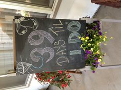 Use mom's chalkboard from home
