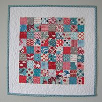 Elizabeth's Fabric Focus ~ Quick-Piece Tiny Squares