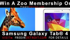 Win A Detroit Zoo Family Pass Or a Samsung Galaxy Tab  Help Me Win A Detroit Zoo Family Pass from FreeInDetroit.com https://wn.nr/h4pymq