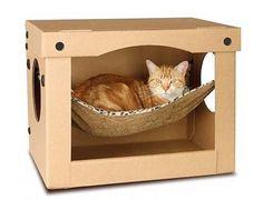 cat hammock, modern cat furniture