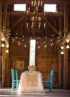 Barn dinner....I wanna eat here!