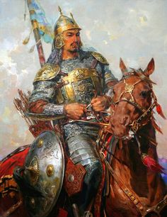 m Fighter Plate Armor Shield Helm Lance Sword Longbow Horseback Asian Faction Vikings, Crimean Tatars, The Elder Scrolls, Historical Art, Wow Art, Fantasy Art, Concept Art, Fiction, Character Design