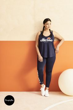 Ellesse branded sportswear, available at Simply Be.