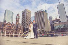 Toronto CIty Hall Wedding Photography