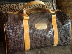 Ready set go!!!! With TED LAPIDUS PARIS France Satchel Leather Handbag.