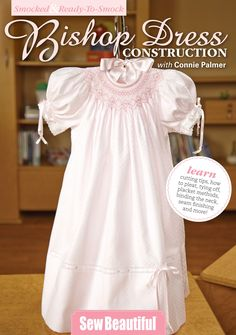 Ready-to-Smock - Smocked Bishop Construction - DVD | Martha Pullen