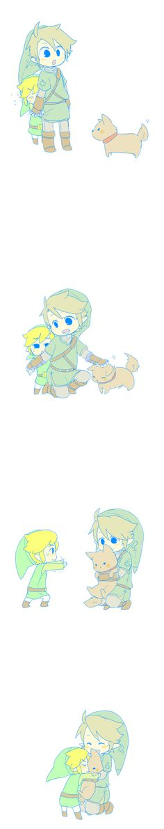 Links and dog